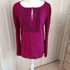 Tory Burch NWT Lillian Tunic Top Size 8